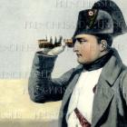Digital Scan NAPOLEON with Spyglass postcard download