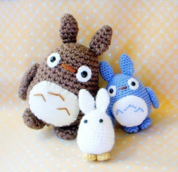 Amigurumi Totoro : Click to Enlarge Image