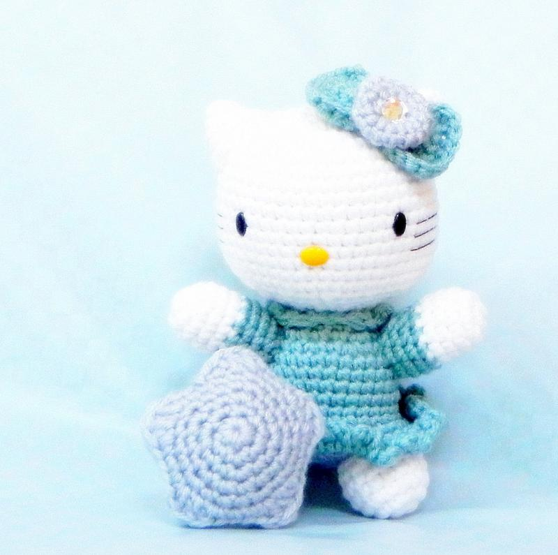 Tutorial Amigurumi Kitty : Click to Enlarge Image