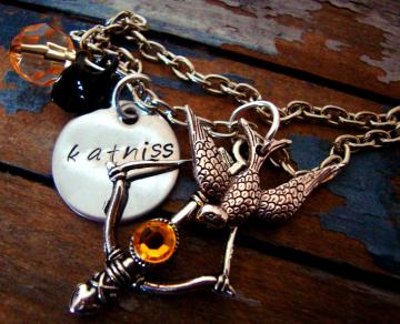 Inspired Katniss Necklace II