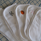 LIL' SPORTS FAN washcloths
