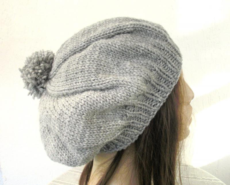 Womens Knit Hat Pattern : #