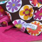 Lovey in Retro Flowers - PINK