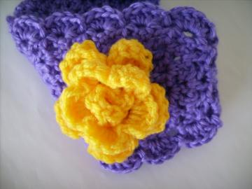 LSU Purple and Gold Hairband, Earwarmer