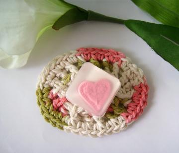 Crocheted Mini Soap Dish