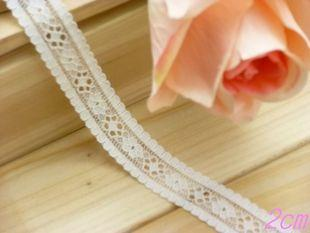 2cm lace trim 2yard item no 10473