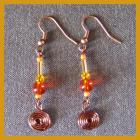 Citrus Spiral Earrings