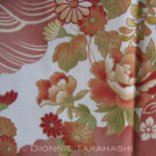 Japanese Design Fabric – Assorted Flowers / Wave
