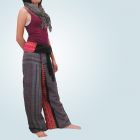 Thai style fisherman pants 100% hemp