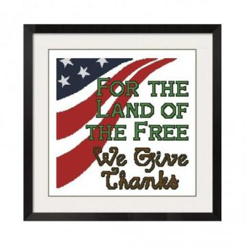 ALL STITCHES - PATRIOTIC CROSS STITCH PATTERN .PDF -456