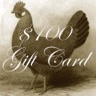 One Hundred Dollar Gift Card To Le Petit Poulailler