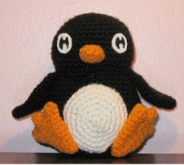 Amy's Crochet Creative Creations: Crochet Penguin Ear Flap