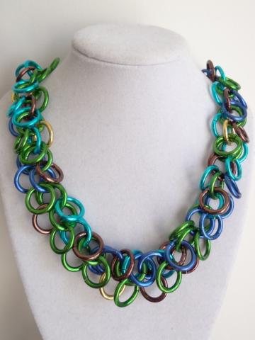 Earth Day Shaggy Loops Necklace
