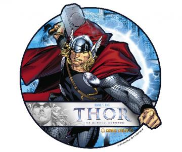 Thor the Mighty Avenger Edible Image Cupcake Toppers by DecoPac - 12 Toppers