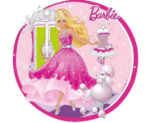 Edible Barbie Cupcake Toppers http://www.zibbet.com/SweetnTreats/artwork?artworkId=823137