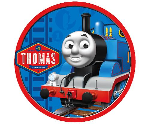 Pin Thomas The Tank Engine Edible Image Cupcake Toppers By ...