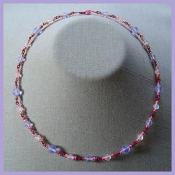 Pink Lilac Necklace