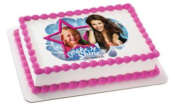 Victorious Make It Shine Edible Image Cake Topper by DecoPac with PHOTO - ROUND OR RECTANGLE