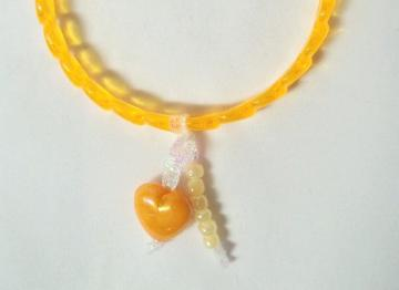Kids Dangle Bangle Yellow