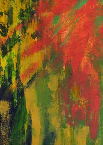ACEO Abstract Painting Mini Print - Thursday Morning