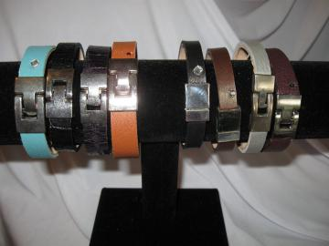 Leather Cuff Bracelet Size 7