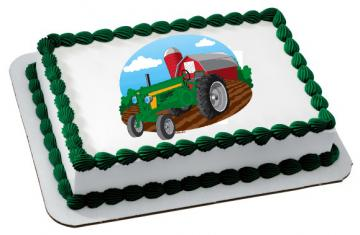 Fun on the Farm Edible Image Cake Topper by DecoPac - ROUND OR RECTANGLE