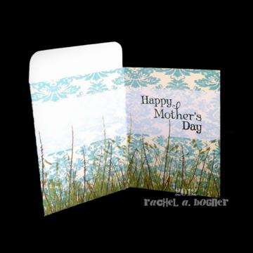 MOTHERS DAY Pocket Card - BLUE