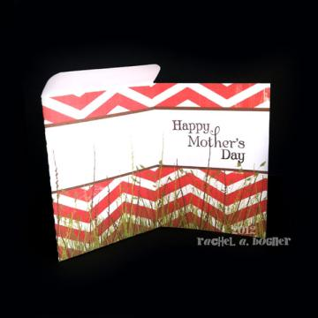 MOTHERS DAY Pocket Card - Red
