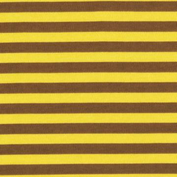 WILD ONES STRIPE, Cotton Interlock Knit Fabric, by the Fat Quarter, FQ