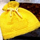 Knitting Pattern Newborn - RUBBER DUCK - EZ Knit Baby Hat Pattern - Great as a Photo Prop - Permission to sell hats