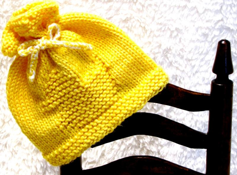 Baby Duck Hat Knitting Pattern : #