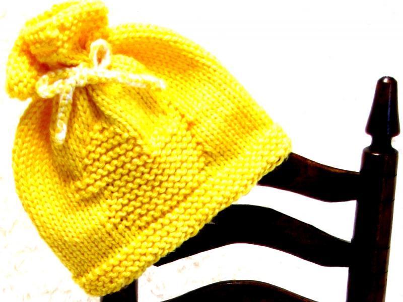 Free Knitting Pattern Duck Hat : #
