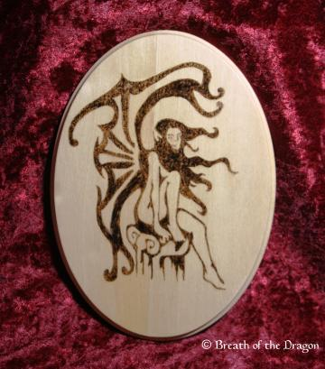 Perched Fairy plaque