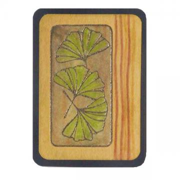 Ginkgo Art Card