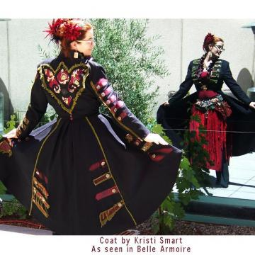 Womans frock coat steampunk fantasy by Kristi Smart