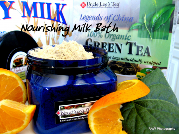 Nourishing Honey Orange Milk Bath ~ 16oz