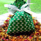 Botanical Flower Sachet ~ Large