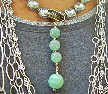 light  green  jade  dangle  earrings