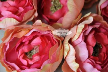 2.5in  Light Pink Ruffle Ranunculus - Limited Time Special