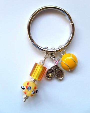 Purse Jewelry - Tennis Ball/Racquet