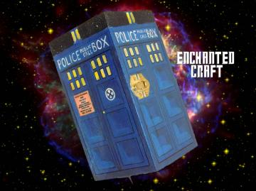 Dr Who? TARdiS box- Trinket size OR RING BOX