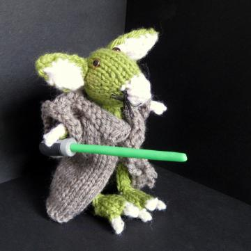 Mouse, hand knitted CUSTOM ORDER