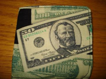 MONEY Wallet - Man's billfold