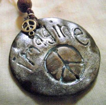 Imagine Peace Pendant