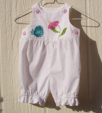 Little Bird Romper Size 6 Months