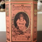 1980 Colman's Mustard Hinged Storage Tin