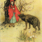 1983 Warwick Goble Fairy Tale Lithographs, 'Red Riding Hood'