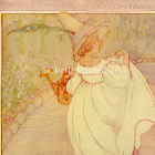 1927 Mary Mary! Anne Anderson's Art Nouveau Mother Goose Lithograph