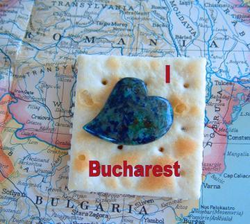 Romanian Crackdown I Heart Bucharest  Fan Photo