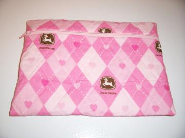 John Deere cosmetic bag